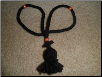 100 knot prayer rope--4 beads
