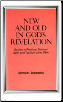 Book: New and Old in God's Revelation