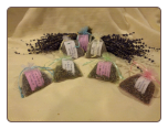 Lavender Sachets: from the fields of St Barbara Monastery