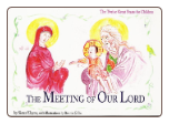 Children's Book: The Meeting of our Lord