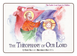 Children's Book: The Theophany of our Lord