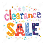 Available CLEARANCE Products -- updated 10-13-18