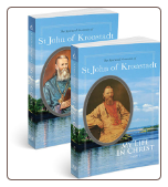 A Christmas Special: My Life in Christ, with Icon of St. John of Kronstadt and St. Xenia