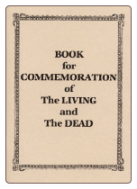 Book for Commemoration